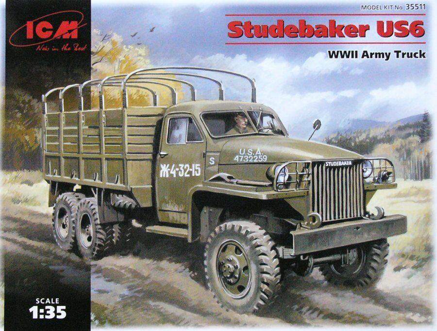 ICM 1 35 Studebaker US6 SECONDA GUERRA MONDIALE ESERCITO CAMION