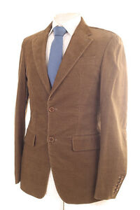 NEXT LIGHT BROWN CORDUROY MEN'S SPORTS JACKET 36R DRY-CLEANED ...