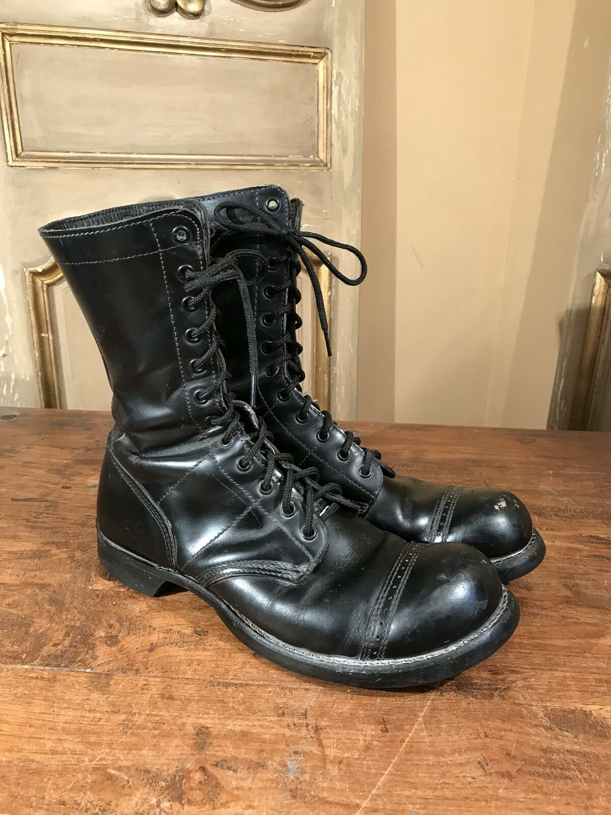 Vietnam Military Army Concord Johnny Depp Boots Mens 10.5 D