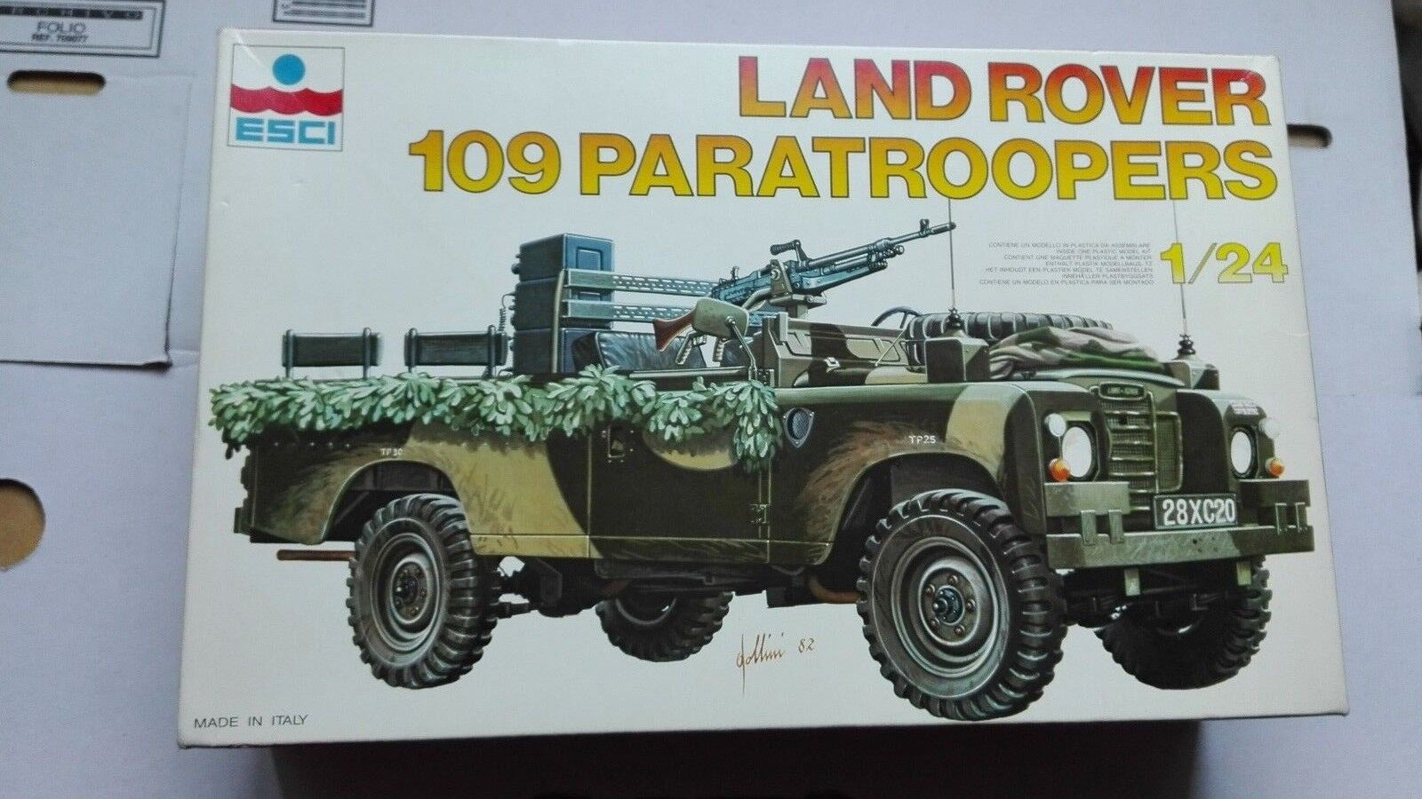 LAND ROVER 109 PARATROOPERS 1 24 ESCI
