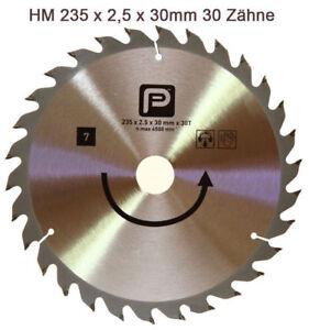B-amp-Q-Bosch-N7-Kreissaegeblaetter-HM-Saegeblatt-235-x-30-mm-Z30-Kreissaegeblatt-Holz