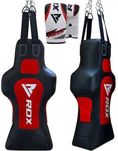 RDX MMA Gefüllt Boxsack Boxen Kampfsport Muay Thai Training Kickboxen Handschuhe