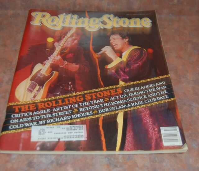 March 8 1990 issue of Rolling Stone - Rolling Stones Cover