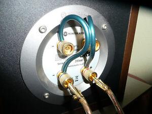 Details zu Neotech Bi-Wiring Speaker Jumper Cable Pair NES-5005 Unterminated on