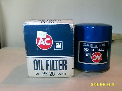 ACDelco PF20 Oil Filter