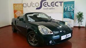 2005 TOYOTA MR2 ROADSTER SMT, AUTOMATIC, CONVERTIBLE, 16 INCH ALLOY WHEELS, REMO