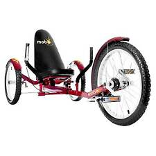 "Mobo Adult Triton Pro 20"" Three Wheeled Cruiser - Red"