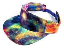GALAXY VISOR ALL OVER PRINT SPACE PATTERN SNAPBACK HAT CAP UNIVERSE FLAT BILL
