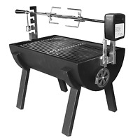 Jumbuck Small Novo Battery Spit Roaster With Rotisserie