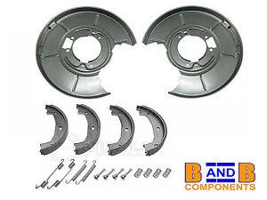Bmw-E46-316i-328i-arriere-frein-a-disque-arriere-plaques-machoires-de-frein-amp-garnitures-A1075