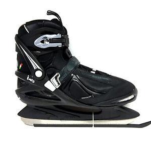 Roces-ICY-3-EislaufSchlittschuhe-Semisoft-Unisex-Gr-43-Freizeit-Eishockey-Kufe