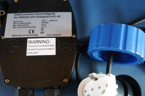 75 Watt 36 Osaga Trafo UVC Vorschaltgerät Netzteil Netzgerät 7,9,11,18,24 55