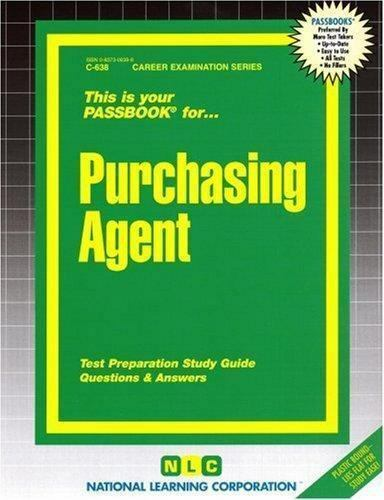National Learning Corporation-Purchasing Agent BOOK NEW