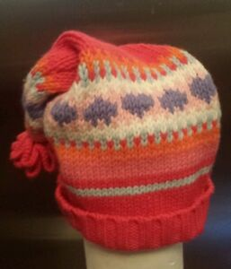 Fuchsia Pink Old Navy Knitted Hat 2t 4t Hat Way Cute Ebay