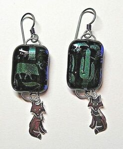 HANDMADE-DICHROIC-GLASS-EARRINGS-WITH-NIOBIUM-EARWIRES-STERLING-SILVER-CHARMS-1
