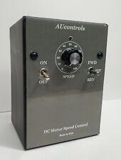 Reversible 3 Hp Dc Motor Speed Controller For 180 Vdc 15 Amp