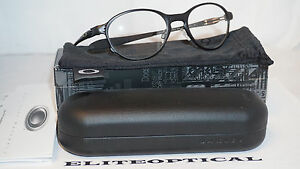 7f1484a80ab Oakley Ox5067-0251 Overlord Eyeglasses Satin Black Frame 51mm