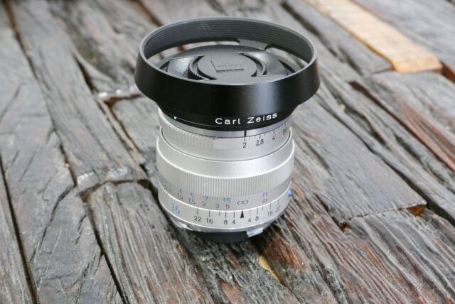 Carl Zeiss Biogon 35mm 1:2 ZM T* slbern silver für Leica M