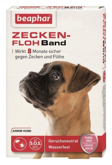 Beaphar Zeckenflohband 60 cm Hunde gegen Zecken & Flöhe Flohband