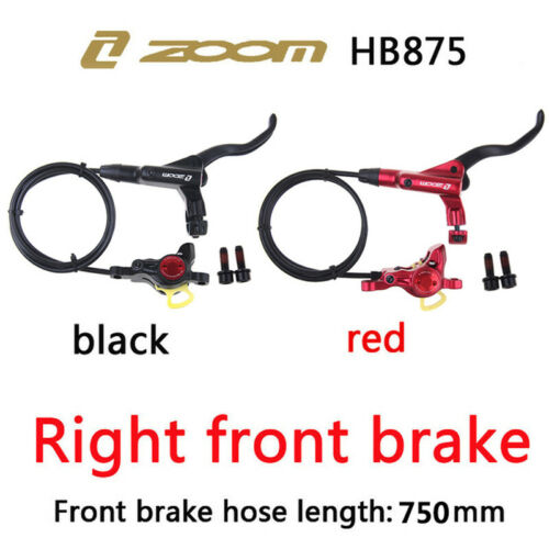 ZOOM HB875 MTB Bike Hydraulic Disc Brakes Front//Rear Bicycle Disc Brake Caliper