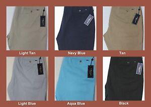 NWT-69-Polo-Ralph-Lauren-Classic-Fit-Flat-Front-9-034-Chino-Khaki-Shorts-Mens-NEW