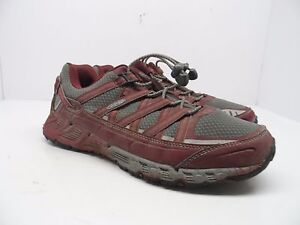 KEEN-Women-039-s-Versatrail-Low-Hiking-Shoes-Gargoyle-Zinfandel-Size-9-5M