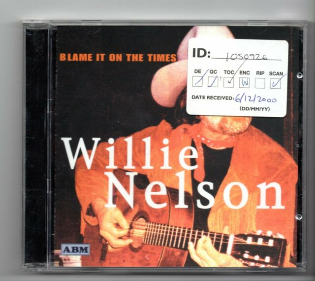 (JH355) Willie Nelson, Blame It On The Times - 2000 CD