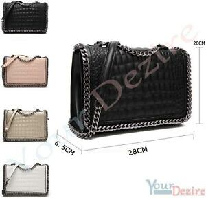 Sac à main pochette chaîne femme Stella design sac en bandoulière   eBay 70ed1b1f03e