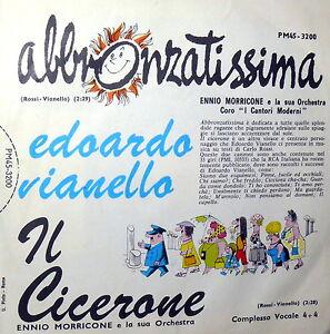 EDOARDO-VIANELLO-IL-CICERONE-7-034-MORRICONE-amp-I-CANTORI-MODERNI-DI-ALESSANDRONI