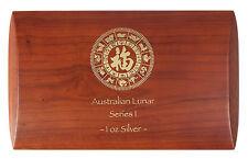 Lunar Serie I Münzbox /  Box / Münzkassette für 12x 1 Oz Silber - Sonderedition