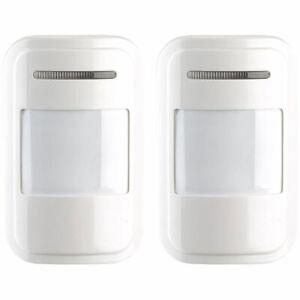 VisorTech 2er-Set Funk-PIR-Sensoren für Alarmanlage XMD-4200//4400.pro//5400.wifi