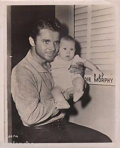 Audie Murphy Son Terry Michael Original Candid Vintage Portrait 1952 Ebay