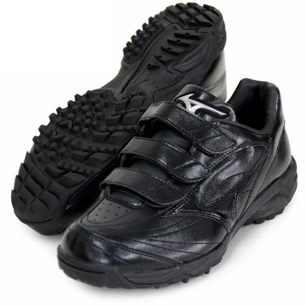 Zapatos de béisbol de Mizuno Japón seleccionar nueve entrenador árbitro 11GT1720 Negro