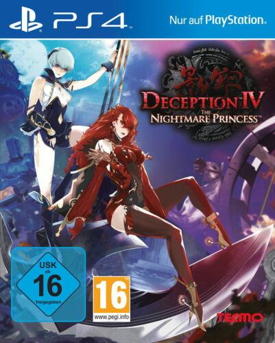 1 von 1 - Deception IV: The Nightmare Princess, PlayStation 4, PS4, Neu