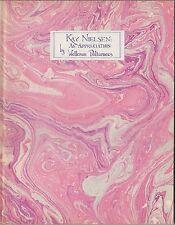 Kay Nielsen : An Appreciation by Welleran Poltarnees (1976) 12 TIPPED-IN PRINTS