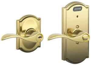 Schlage Fe51vacc505cam Camelot Keyed Entry Door Lever