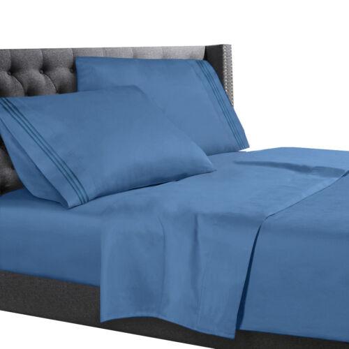 Deep Pocket Sheet Set All Unique Sizes Brushed Soft Microfiber Hotel Bed Sheets