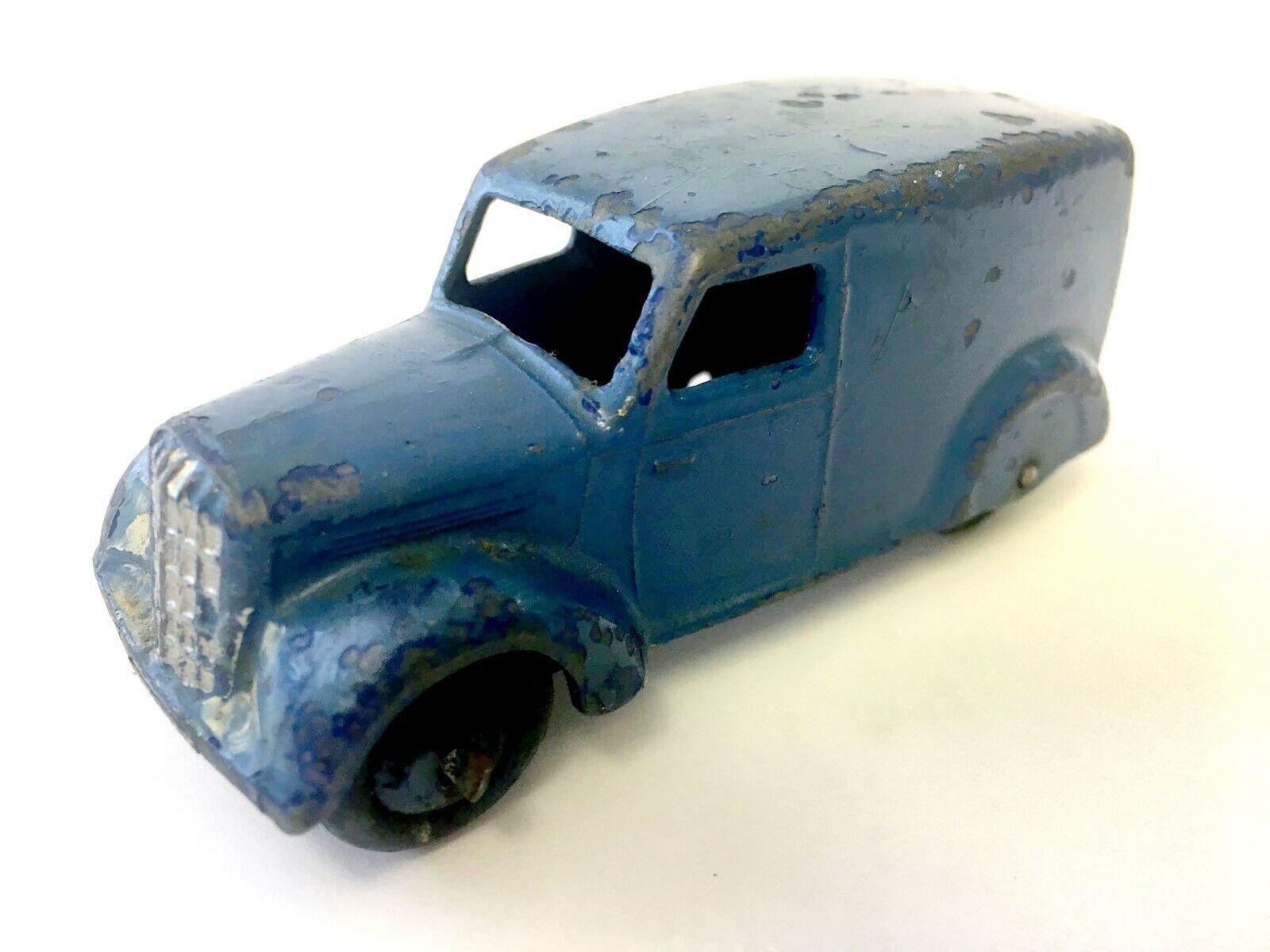 Dinky 28 Series Van Dark bluee
