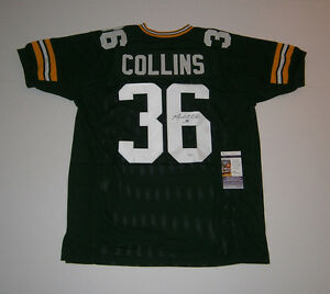PACKERS-Nick-Collins-signed-custom-green-jersey-w-36-JSA-COA-AUTO-Autographed
