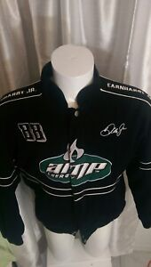 vtg-NASCAR-AMP-Energy-88-Dale-Jr-National-Guard-Jacket-WINNERS-CIRCLE-Coat-sz-L