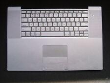 "Powerbook G4 17"" Palmrest Keyboard Trackpad A1139 1.67GHz 613-6123-A"