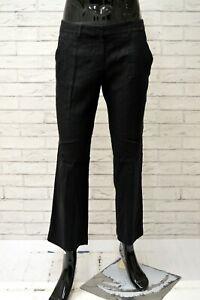 Pantalone-Uomo-ICEBERG-Taglia-48-Jeans-Pants-Classico-Cotone-Lana-Nero-Regular