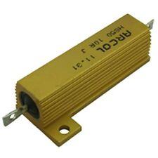 50W Arcol Aluminium Clad Wirewound Resistor 10R