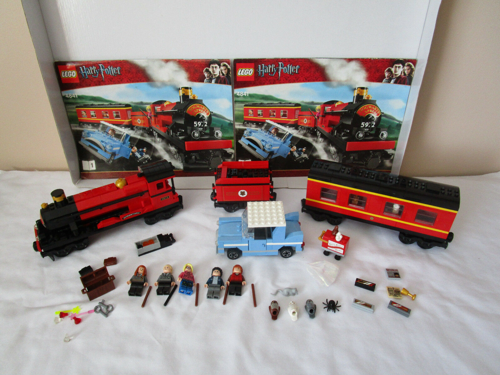 Lego Harry Potter HOGWARTS EXPRESS TRAIN SET 4841 COMPLETE SET NO BOX