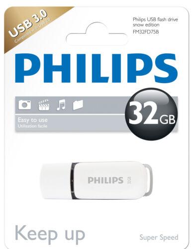 PHILIPS Snow Edition 32gb USB Stick USB 3.0 grigi fm32fd75b