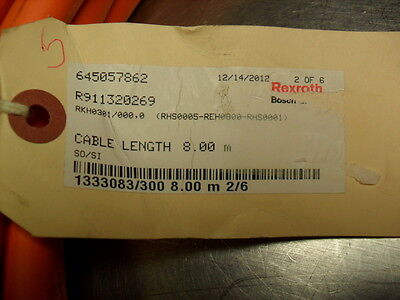 Steady Rexroth Rkh0301 Electrical Equipment & Supplies R911320269 Ibrido Lunghezza Del Cavo 8.00 Metri As Effectively As A Fairy Does
