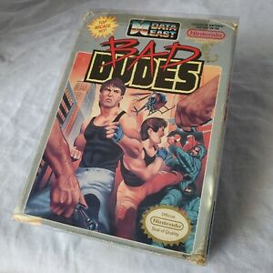 Bad-Dudes-Nintendo-NES-Game-Box-and-Collectors-Cover-Case