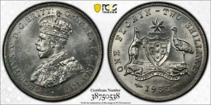 Australia-1935-Melbourne-Florin-PCGS-MS63-lot-0305