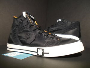6285e610d491 Image is loading 2009-CONVERSE-POORMAN-WEAPON-HI-UNDEFEATED-UNDFTD-BLACK-