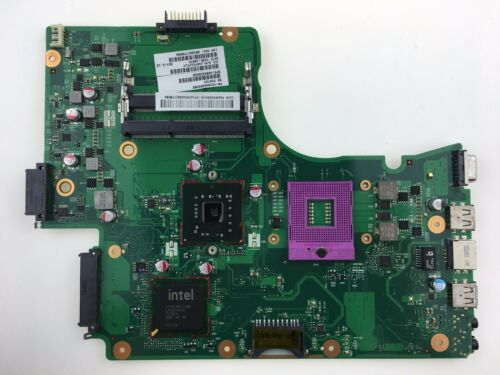 V000225020 GL40 Motherboard for Toshiba C650 C655 Socket PGA478 DDR3 EXC Cond